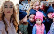 """""""Aizlaidās lapās"""": Oksana piedzemdēja vīram piecīšus, bet viņš viņu pameta. Kā mamma un bērni dzīvo šodien"""