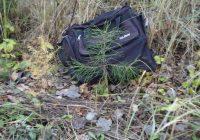 Atbraucot uz vasarnīcu, pamanīju melnu somu. Biju patīkami pārsteigta to atverot