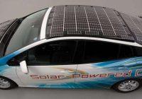 Toyota strādā pie elektromobiļa, kuru nevajadzēs uzlādēt. Automašīnas ar saules enerģiju