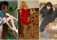 Šarmantākās dāmas uz dīvāna un kāpņu telpu karalienes. Viņas fotografējas, mēs sarkstam!