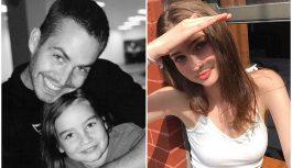 """""""Ātrs un bez žēlastības"""" spīdekļa Pola Valkera meita parādīja video no arhīva, kurā ir redzama tēva dzimšanas diena"""