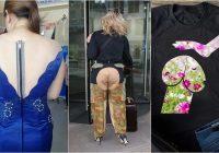 Vairāk nekā 20 absurdu apģērbu paraugi. Jābrīnās – ar kuru vietu modes dizaineri ir domājuši?