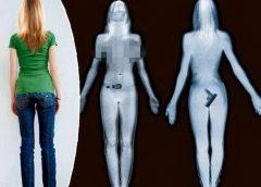 Ārprāts, cik daudz patiesībā redzams lidostu ķermeņa skenerī (+FOTO)