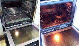Vai arī tu ienīsti cepeškrāsns tīrīšanu? Ģeniāls knifiņš, kas liks šai virtuves ierīcei spīdēt un laistīties!